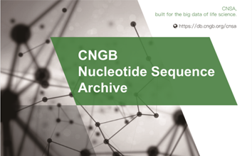 CNGB Nucleotide Sequence Archive